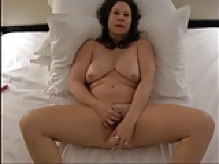 Busty Nympho Wife has Big Orgasm during Double Penetration